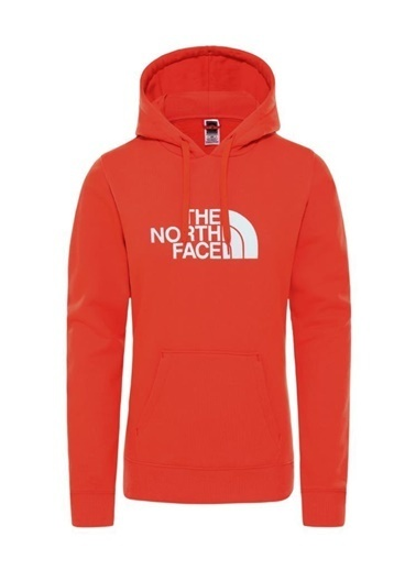 The North Face The North Face Drew Peak Pullover Hoodie Kadın Sweatshirt Kırmızı Renkli